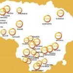 6033 liepnelės už gyvybę visoje Lietuvoje